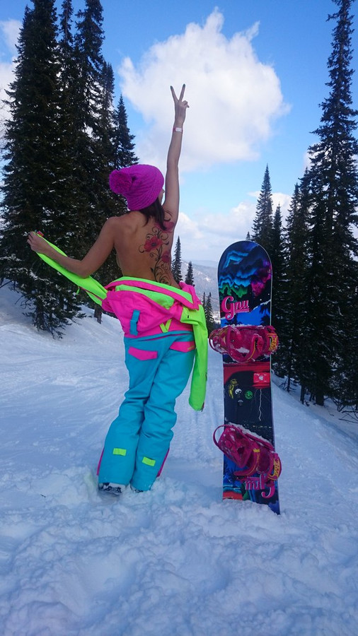 One piece ski suit by Tigon