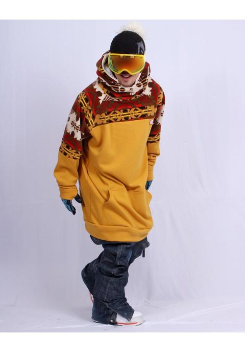 Long snowboard hoodies