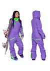 Women's all in one ski suit TWIN ONE COLOR 3730/14