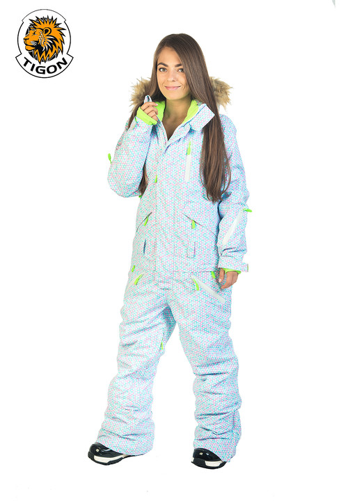 Women all in one ski suit Snow