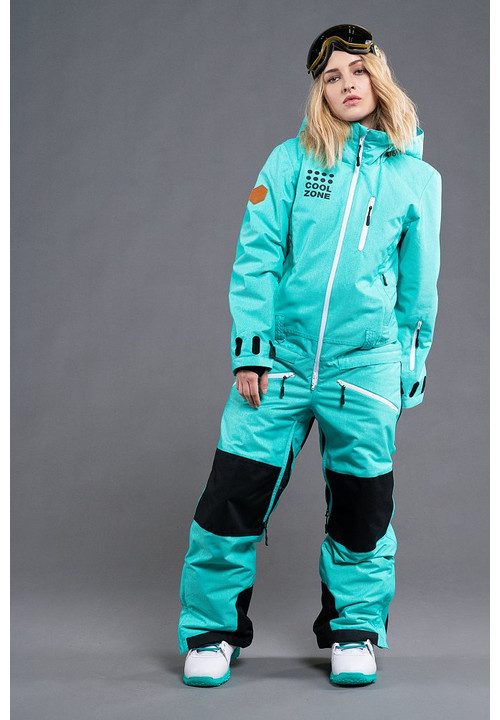 Women's all in one ski suit KITE KN 1102-12M