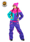 Women's all in one ski suit MULTI-205