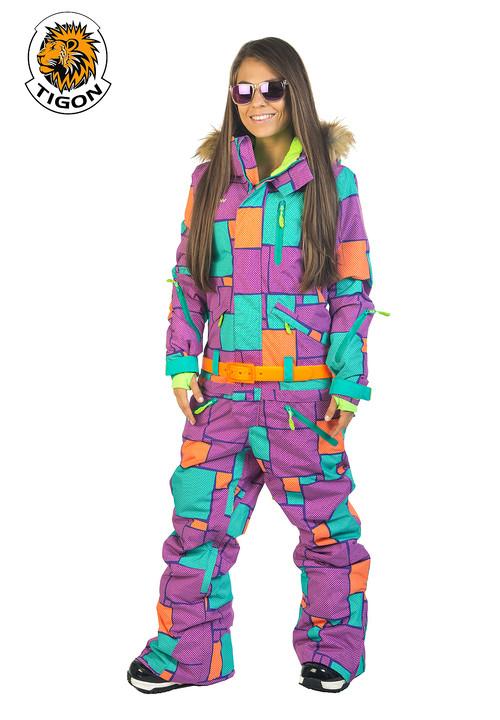 d29bf13551 Perfect women s one piece ski suit (jumpsuit. onesie) new 6
