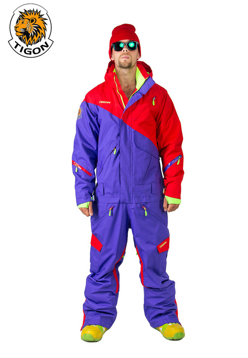 Men's all in one ski suit TIGON SMART 312