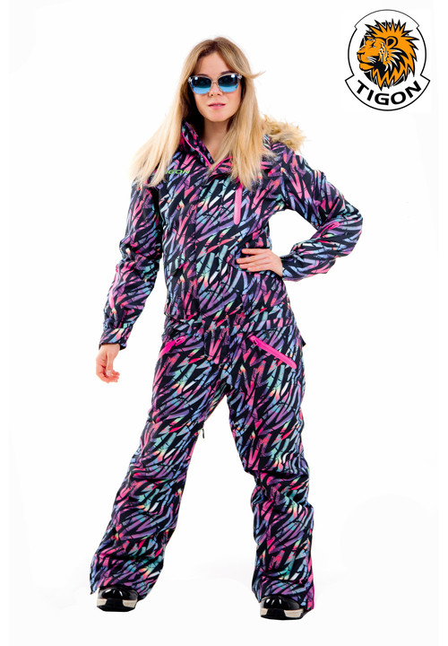 Women's one piece ski suit STREET