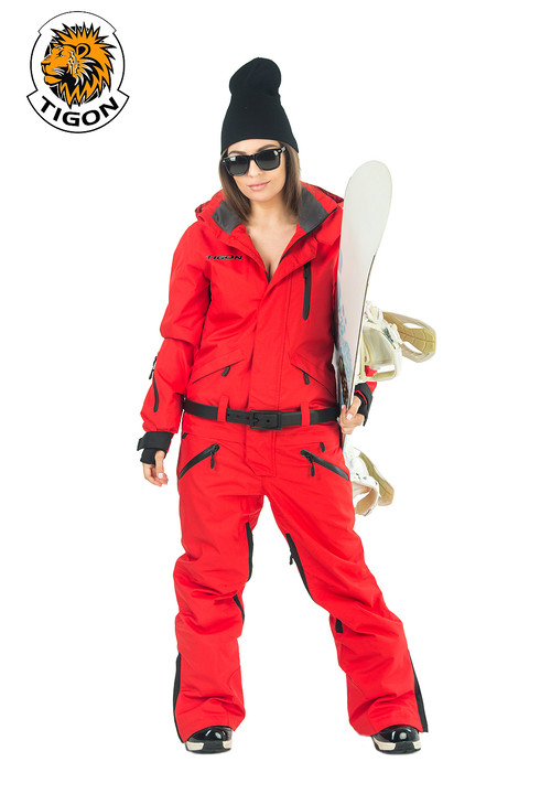 Women's all in one ski suit 1911